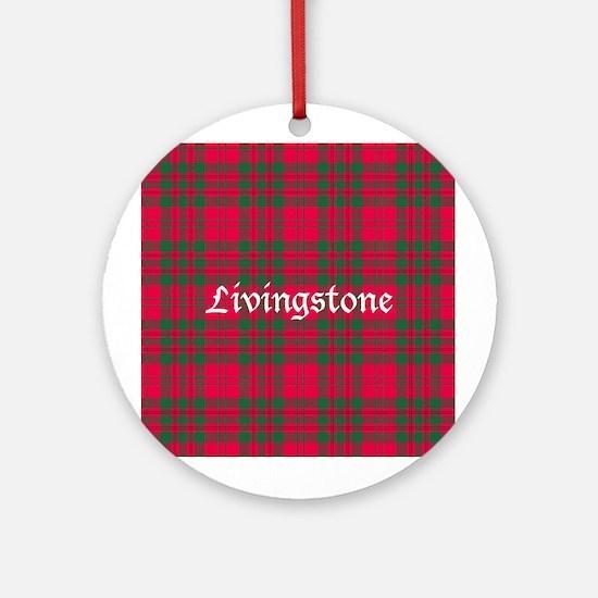 Tartan - Livingstone Ornament (Round)
