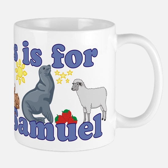 S is for Samuel Mug