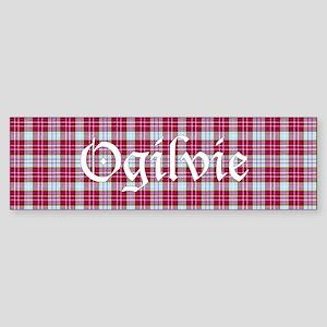 Tartan - Ogilvie Sticker (Bumper)