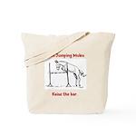 Coon Jumping Mule Tote Bag
