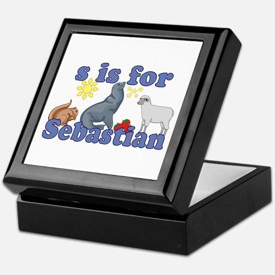 S is for Sebastian Keepsake Box