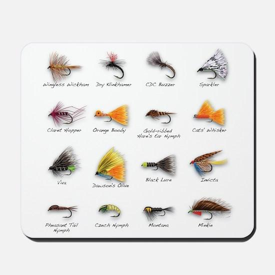 Flies Mousepad