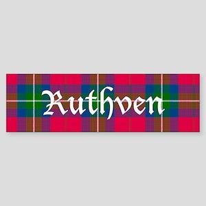 Tartan - Ruthven Sticker (Bumper)
