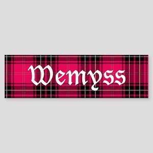 Tartan - Wemyss Sticker (Bumper)