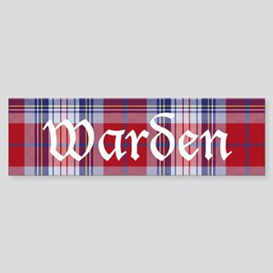 Tartan - Warden Sticker (Bumper)