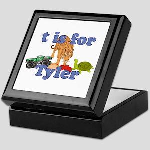 T is for Tyler Keepsake Box