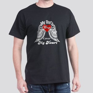 My Dad's Wings Cover My Heart T Shirt, T-Shirt
