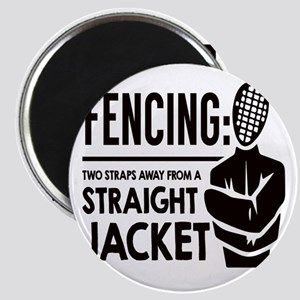 Fencing: Two Straps Away From A Straight J Magnets