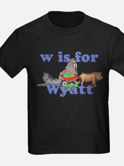 W is for Wyatt T
