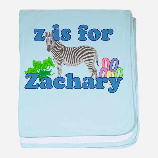Z is for Zachary baby blanket