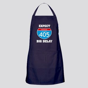 405 expect big delay Apron (dark)