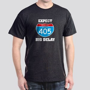 405 expect big delay Dark T-Shirt