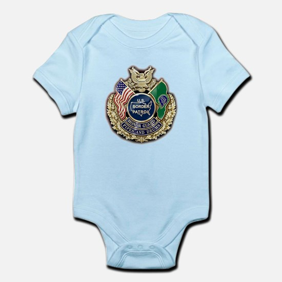 Border Patrol Honor Guard Infant Bodysuit