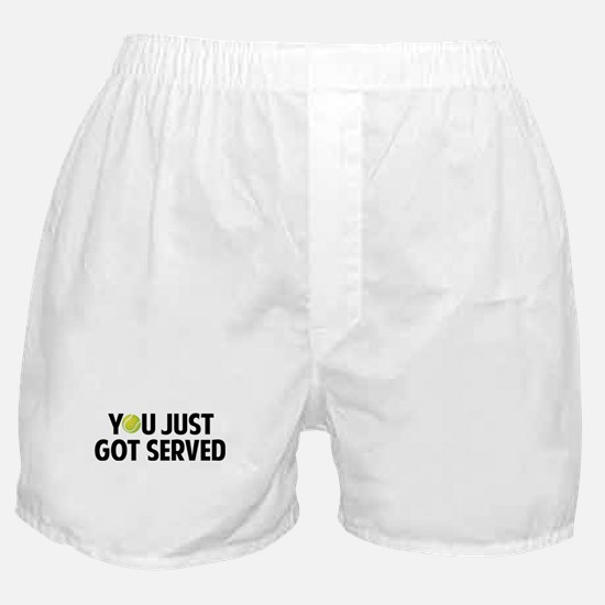 You just got served-Tennis Boxer Shorts