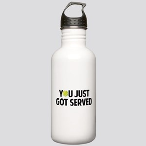You just got served-Tennis Stainless Water Bottle
