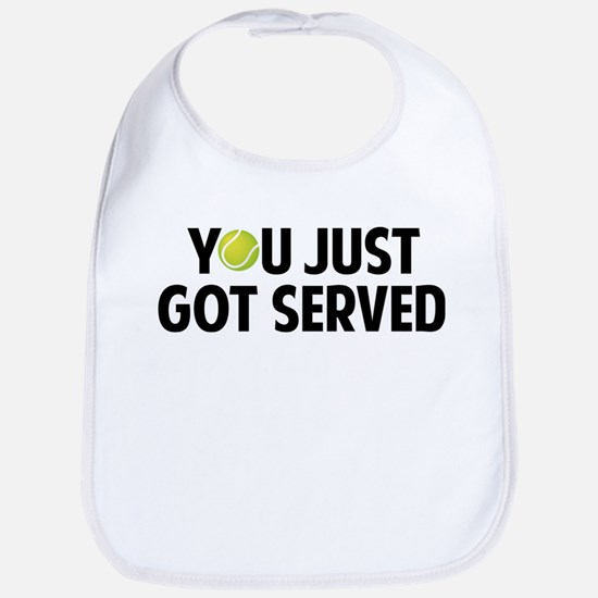 You just got served-Tennis Bib