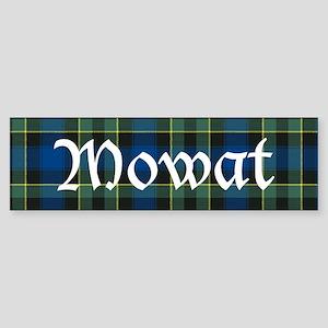 Tartan - Mowat Sticker (Bumper)