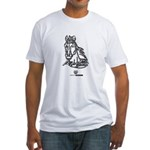 Mustang Horse Fitted T-Shirt