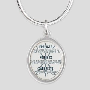 Epeeists - Foilists - Saberists Necklaces