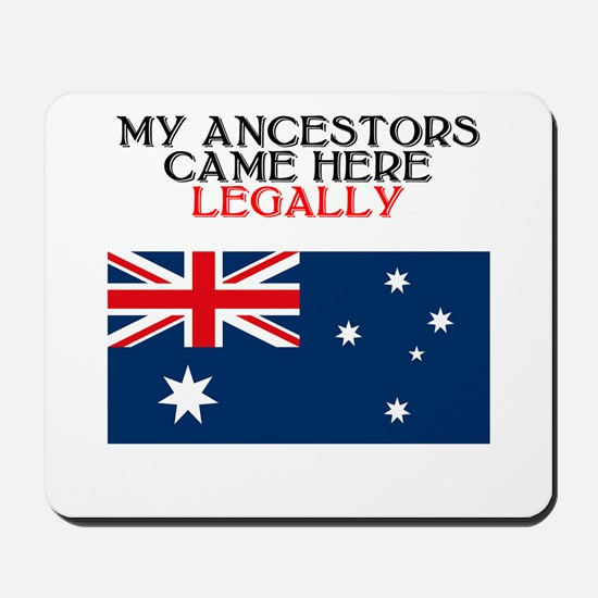 Australian Heritage Mousepad