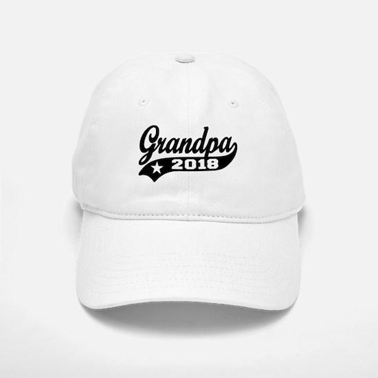 Grandpa 2018 Baseball Baseball Cap