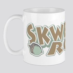 Sycho Skwerl Squirrel Mug