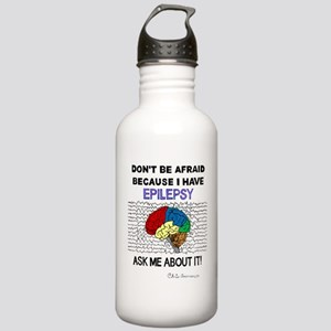 ASK ME ABOUT IT Stainless Water Bottle 1.0L