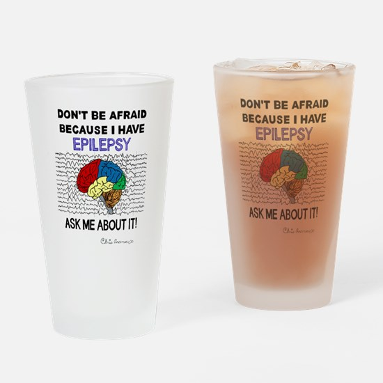 ASK ME ABOUT IT Drinking Glass