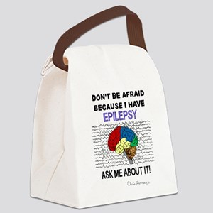 ASK ME ABOUT IT Canvas Lunch Bag