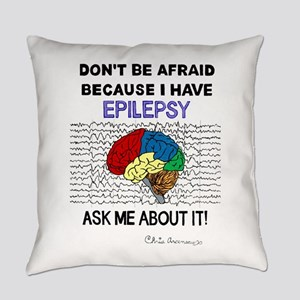 ASK ME ABOUT IT Everyday Pillow