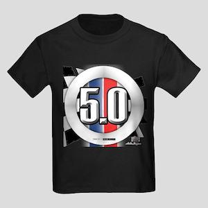 5.0 50 RWB Kids Dark T-Shirt