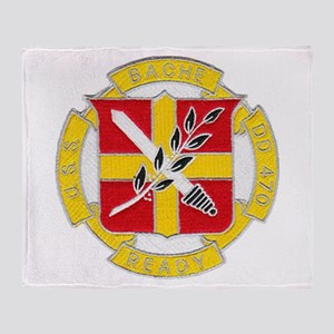 USS BACHE Throw Blanket