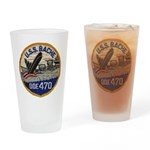 USS BACHE Drinking Glass