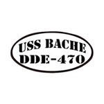 USS BACHE Patches