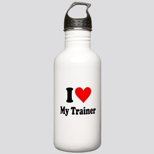 I Love My Trainer: Stainless Water Bottle 1.0L
