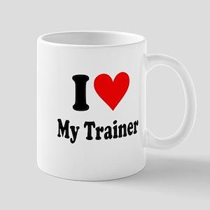 I Love My Trainer: Mug