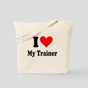 I Love My Trainer: Tote Bag
