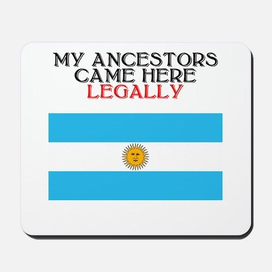 Argentina Heritage Mousepad