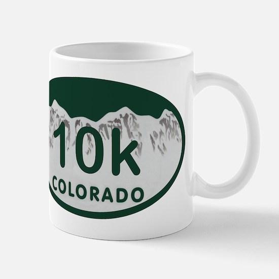 10K Colo License Plate Mug