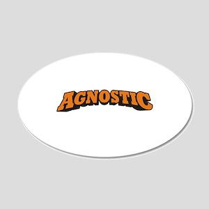Agnostic 22x14 Oval Wall Peel