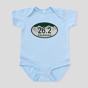 26.2 Colo License Plate Infant Bodysuit