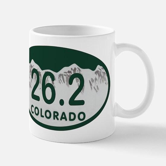 26.2 Colo License Plate Mug