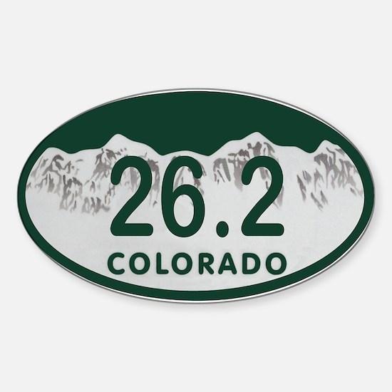 26.2 Colo License Plate Sticker (Oval)