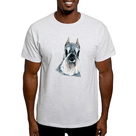 Schnauzer Portrait Light T-Shirt