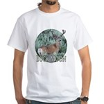 Buck moon White T-Shirt