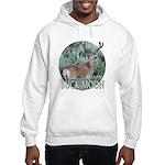 Buck moon Hooded Sweatshirt