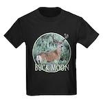 Buck moon Kids Dark T-Shirt