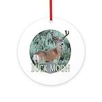 Buck moon Ornament (Round)