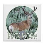 Buck moon Tile Coaster