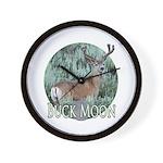 Buck moon Wall Clock